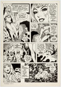 Original Comic Art:Panel Pages, Mike Royer Tarzan Weekly #11 Story Page 5 Original Art(Byblos Productions, 1977)......