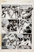Original Comic Art:Panel Pages, Gonzalo Mayo Vampirella #86 Story Page 10 Original Art(Marvel, 1980)....