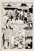 Original Comic Art:Panel Pages, Bob Oksner and Wally Wood Angel and the Ape #3 Story Page 2Original Art (DC, 1969)....
