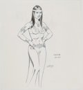 Animation Art:Concept Art, Russ Heath Conan the Animated Series Sasha Concept Art (Sunbow Productions, 1997)....