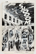 Original Comic Art:Panel Pages, Chris Warner and E. R. Cruz Moon Knight #3 Story Page 22Original Art (Marvel, 1985)....