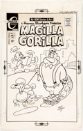 Original Comic Art:Covers, Ray Dirgo Magilla Gorilla #5 Cover Original Art (Charlton, 1971)....
