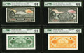 World Currency, Ethiopia State Bank of Ethiopia 1945 Complete Denomination Specimen Set.. ... (Total: 12 notes)
