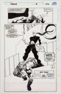 Original Comic Art:Panel Pages, M. C. Wyman and Malcolm Jones III The Shroud #3 Page 22Original Art (Marvel, 1994)....