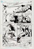 Original Comic Art:Panel Pages, Keith Giffen, Darick Robertson, and John Beatty Justice LeagueEurope #30 Story Page 16 Orig...