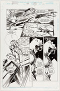 Original Comic Art:Panel Pages, Mike Deodato Jr. and Tom Palmer Avengers #399 Story Page 15Original Art (Marvel, 1996)....