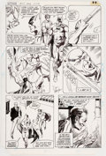 Original Comic Art:Panel Pages, Don Newton and Alfredo Alcala Batman #371 Story Page 22Original Art (DC, 1984)....