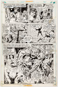 Original Comic Art:Panel Pages, Rich Buckler and Ernie Chan Conan the Barbarian #40 StoryPage 12 Original Art (Marvel, 1974...