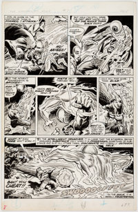 Keith Pollard and Jim Mooney Rampaging Hulk #7 Story Page 4 Original Art (Marvel, 1978)