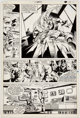 Gene Colan and Dave Simons Captain America Annual #5 Story Page 19 Original Art (Marvel, 1981)
