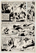 Original Comic Art:Panel Pages, Gene Colan and Bob Smith World's Finest Comic #274 StoryPage 8 Original Art (DC, 1981)....