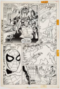 Original Comic Art:Panel Pages, Mark Bagley and Keith Williams The Spectacular Spider-ManAnnual #8 Story Page 18 Original A...