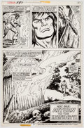 Original Comic Art:Panel Pages, Howard Chaykin and Ernie Chan Conan the Barbarian #83 StoryPage 19 Original Art (Marvel, 1978)....