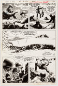 Original Comic Art:Panel Pages, Russ Heath Our Army at War #262 Story Page 11 Original Art(DC, 1973)....