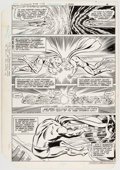 Original Comic Art:Panel Pages, Curt Swan and Dave Hunt Superman #380 Story Page 4 OriginalArt (DC, 1983)....