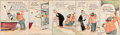Original Comic Art:Comic Strip Art, Frank Willard Moon Mullins Hand-Colored Daily Comic Strip Original Art (Chicago Tribune, 1924)....