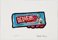 "Original Comic Art:Paintings, Strephon Taylor Wacky Packages ""Red Veins"" Painting OriginalArt (Topps, 2004/2005-06)...."