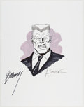 Original Comic Art:Illustrations, Alex Saviuk and Gerry Conway - Tombstone Illustration Original Art(undated)....