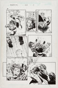 Original Comic Art:Panel Pages, Sean Chen and Norm Rapmund Wolverine #160 Story Page 11Original Art (Marvel, 2001)....