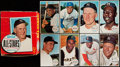Baseball Cards:Sets, 1964 Topps Giants Baseball Complete Set (60) With Empty Wax Box....