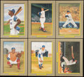 Autographs:Post Cards, Perez-Steele Great Moments Unsigned Lot of 42....