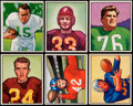 Football Cards:Lots, 1950 Bowman Football Collection (90). ...