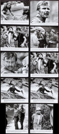 """Movie Posters:Action, Deliverance (Warner Brothers, 1972). Behind-the-scenes Photo & Photos (9) (Approx. 7.5"""" X 9.25"""", 8"""" X 9.25"""", & 7.5"""" X 9.75"""")... (Total: 10 Items)"""
