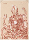 Original Comic Art:Illustrations, Donato Giancola - Iron Man Illustration Original Art (2008)....