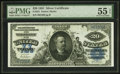 Large Size:Silver Certificates, Fr. 321 $20 1891 Silver Certificate PMG About Uncirculated 55 EPQ.. ...