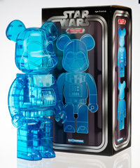 BE@RBRICK X Lucas Films Darth Vader Holographic 1000%, 2016 Painted cast resin 28 x 13-1/4 x 9-1/