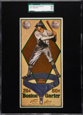 Baseball Cards:Singles (Pre-1930), 1914 Boston Garter Joe Jackson SGC 70 EX+ 5.5....