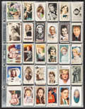 Movie Posters:Miscellaneous, Cigarette Card Lot (1920s-1930s). British and German Cigarette Cards (300). Miscellaneous.. ... (Total: 300 Items)