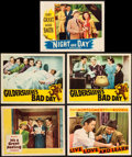 """Movie Posters:Musical, Night and Day & Others Lot (Warner Brothers, 1946). Lobby Cards(5) (11"""" X 14""""). Musical.. ... (Total: 5 Items)"""