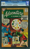 Silver Age (1956-1969):Superhero, Adventure Comics #253 (DC, 1958) CGC FN/VF 7.0 OFF-WHITE TO WHITEpages.
