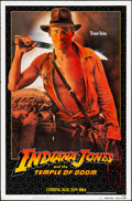 """Movie Posters:Adventure, Indiana Jones and the Temple of Doom (Paramount, 1984). One Sheet (27"""" X 41"""") Teaser. Adventure.. ..."""