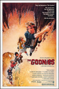 "Movie Posters:Adventure, The Goonies (Warner Brothers, 1985). One Sheet (27"" X 41"") Drew Struzan Artwork. Adventure.. ..."