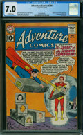 Silver Age (1956-1969):Superhero, Adventure Comics #290 (DC, 1961) CGC FN/VF 7.0 OFF-WHITE pages.
