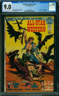 Bronze Age (1970-1979):Western, All-Star Western #11 (DC, 1972) CGC VF/NM 9.0 OFF-WHITE TO WHITEpages.