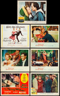 """Movie Posters:Swashbuckler, The Three Musketeers & Others Lot (MGM, 1948). Lobby Cards (6) & Title Card (11"""" X 14""""). Swashbuckler.. ... (Total: 7 Items)"""