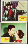 "Movie Posters:Adventure, The Sign of Zorro (Buena Vista, 1960). Lobby Cards (2) (11"" X 14""). Adventure.. ... (Total: 2 Items)"
