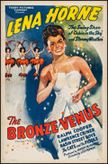 "Movie Posters:Black Films, The Bronze Venus (Toddy Pictures, R-1943). One Sheet (27.25"" X 41""). Original Title: The Duke is Tops. From the Collec..."
