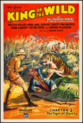 """Movie Posters:Serial, King of the Wild (Mascot, 1931). One Sheet (27"""" X ..."""