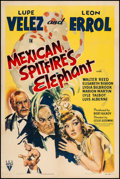 """Movie Posters:Comedy, Mexican Spitfire's Elephant (RKO, 1942). One Sheet (27.5"""" X 41""""). From the Collection of Frank Buxton, of which the sale's..."""