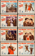 Movie Posters:Comedy, Jumping Jacks (Paramount, 1952). Lobby Card Set of...