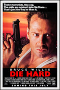 "Movie Posters:Action, Die Hard (20th Century Fox, 1988). One Sheets (2) (27"" X 41"" &27"" X 40""). Action.. ... (Total: 2 Items)"