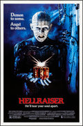 "Movie Posters:Horror, Hellraiser (New World, 1987). One Sheet (27"" X 41""). Horror.. ..."