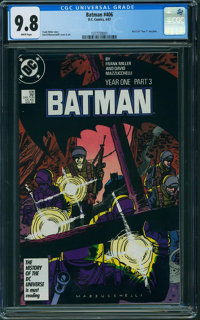Batman #406 (DC, 1987) CGC NM/MT 9.8 WHITE pages