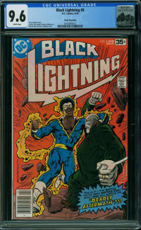 Black Lightning #8 - Rocky Mountain (DC, 1978) CGC NM+ 9.6 WHITE pages