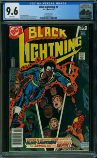 Black Lightning #9 - Rocky Mountain (DC, 1978) CGC NM+ 9.6 WHITE pages