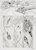 Original Comic Art:Panel Pages, Brendan McCarthy Rocketeer Adventures #4 Story Page 6Original Art (IDW, 2011). ...